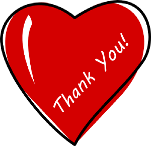 300x290 Thank You Free Thank You Volunteer Clip Art Free Clipart Images 2
