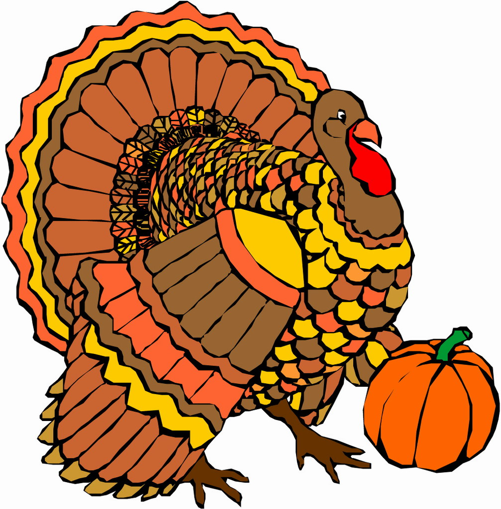 1007x1024 Free Turkey Clip Art Free Happy Thanksgiving Turkey Bookmark