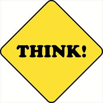 350x350 Free Think Clipart