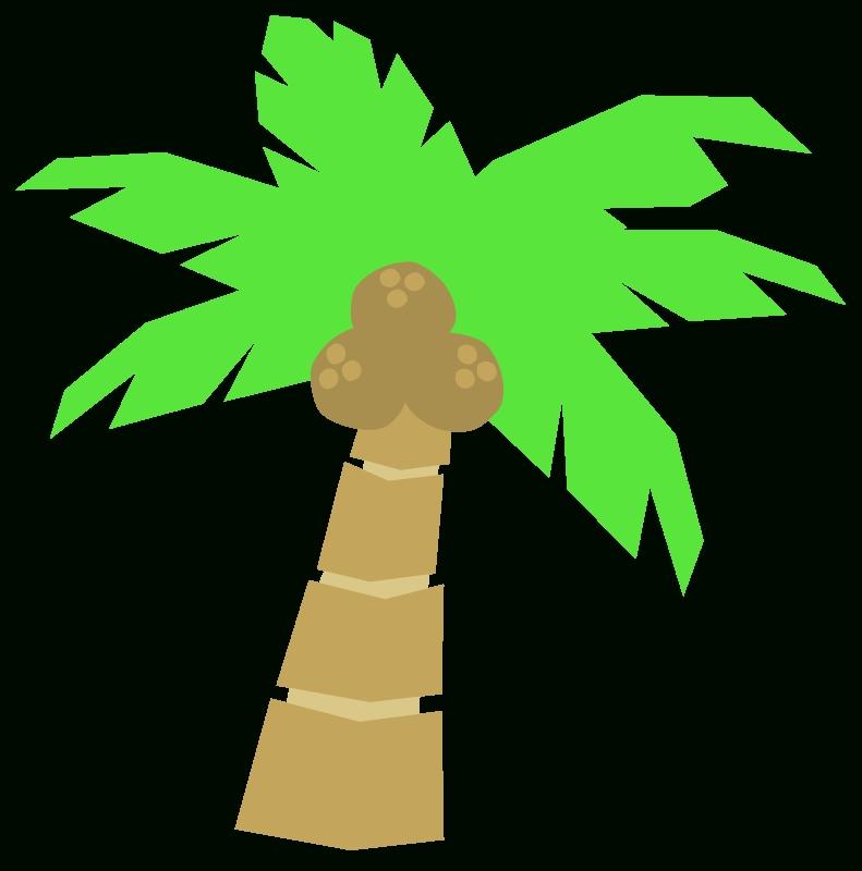 791x800 Palm Tree Coconut Clipart Clipart Panda