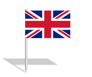 300x250 British Flag Clipart Small