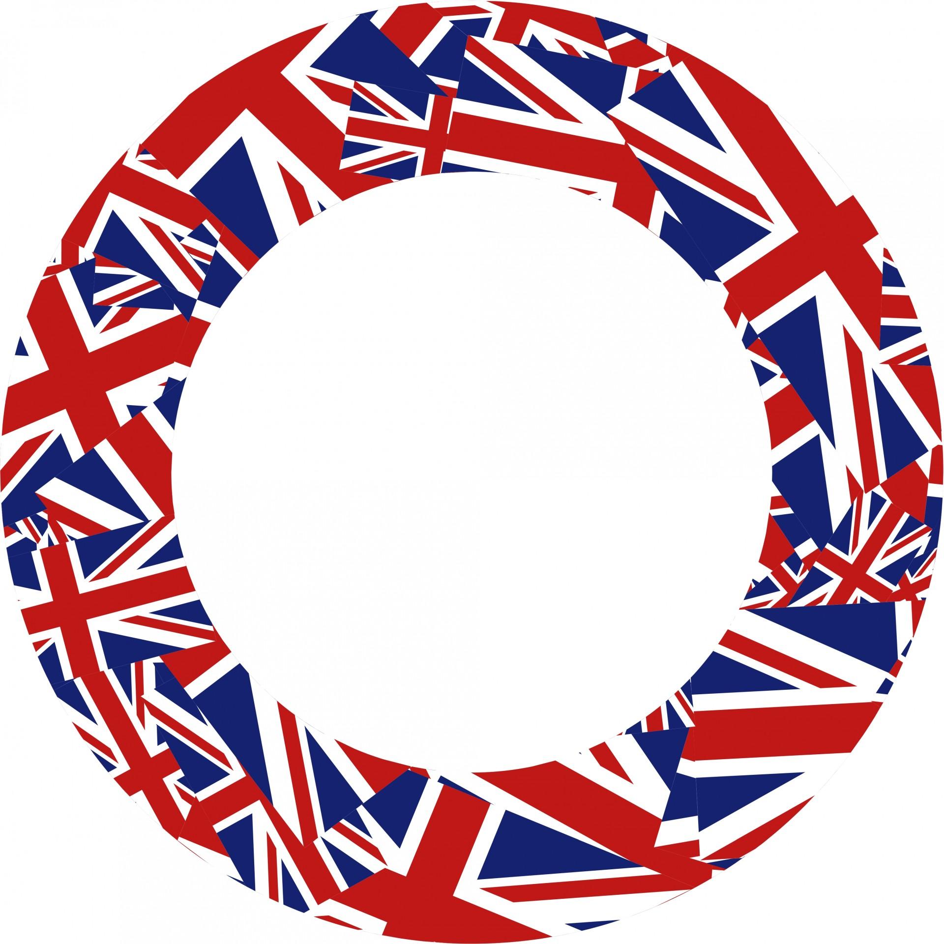 1920x1920 British Flag Clipart Round