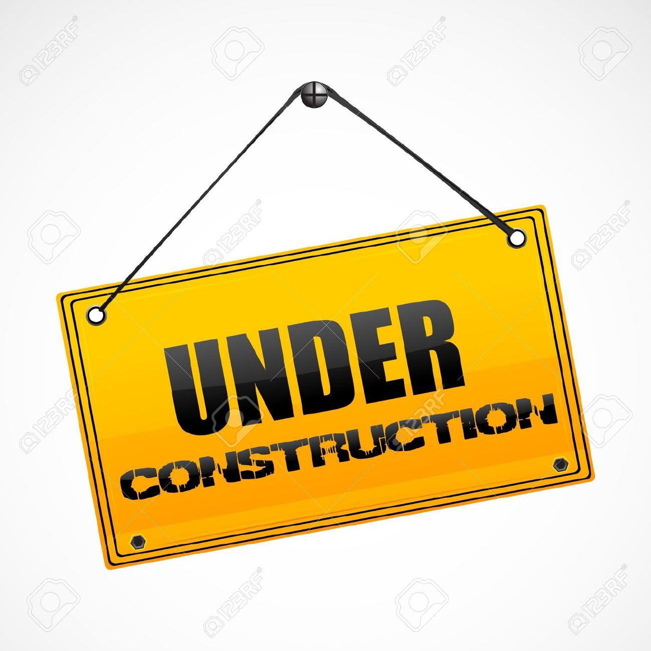 1300x1300 Clipart Under Construction Sign