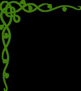 266x297 Green Celtic Vine Clip Art