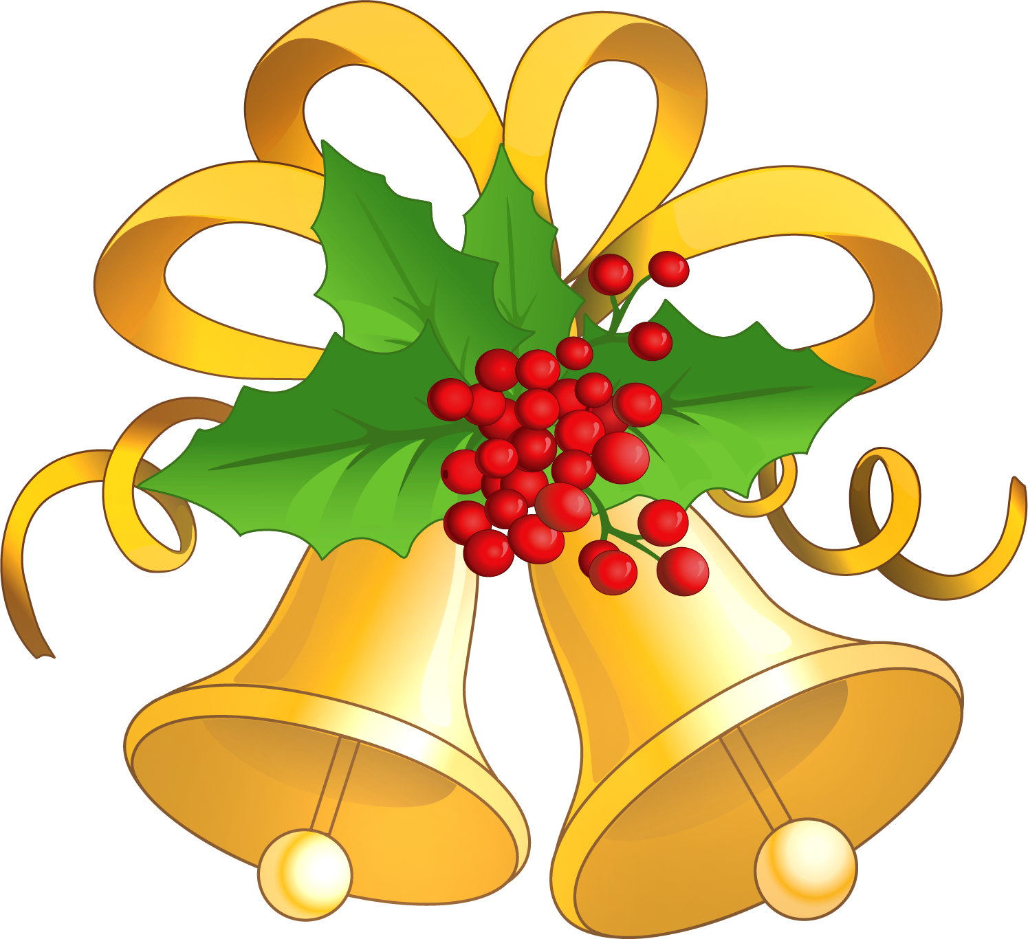 1495x1366 Christmas Bells Clip Art Gold Clipart Gallery Free Clipart