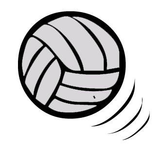 Free Clipart Volleyball