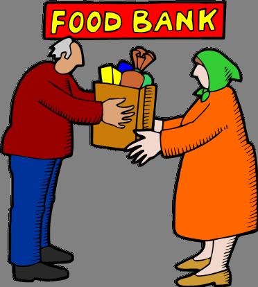 372x414 Clip Art Food Pantry Volunteers Clipart
