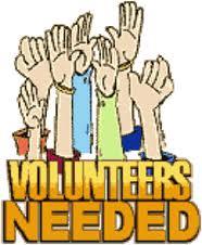 186x226 Free Clipart Volunteers Needed