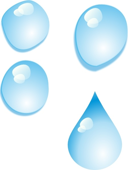 450x597 Set Of Water Drops Clip Art Free Vector In Open Office Drawing Svg