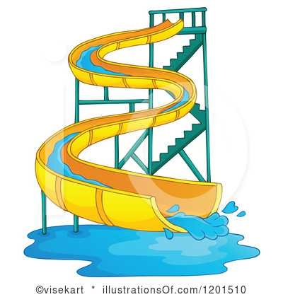 400x420 Inflatable Water Slide Clipart Clipart Panda