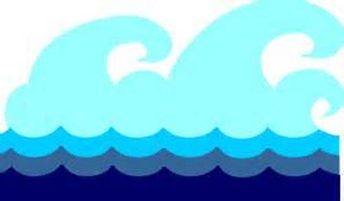 500x292 Free Clip Art Waves Clipart Image 6
