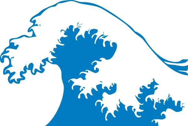 600x403 Free Waves Clip Art Pictures 5