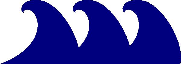 600x213 Monster Waves Clipart Art