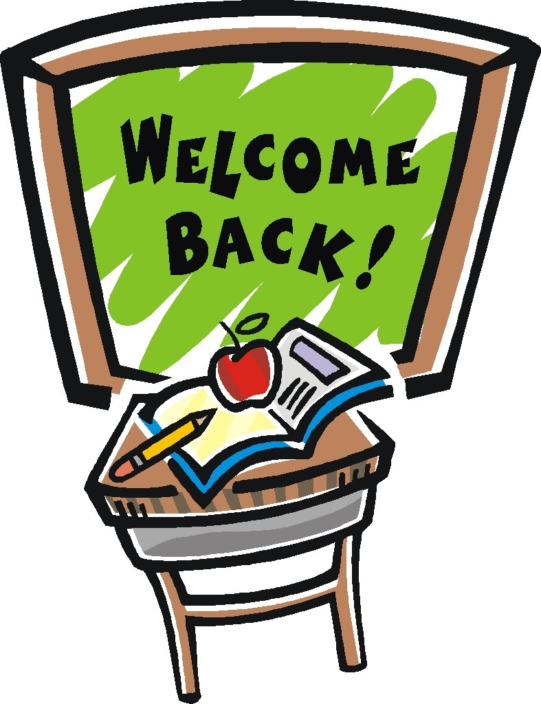 787x1024 Welcome Back Clipart
