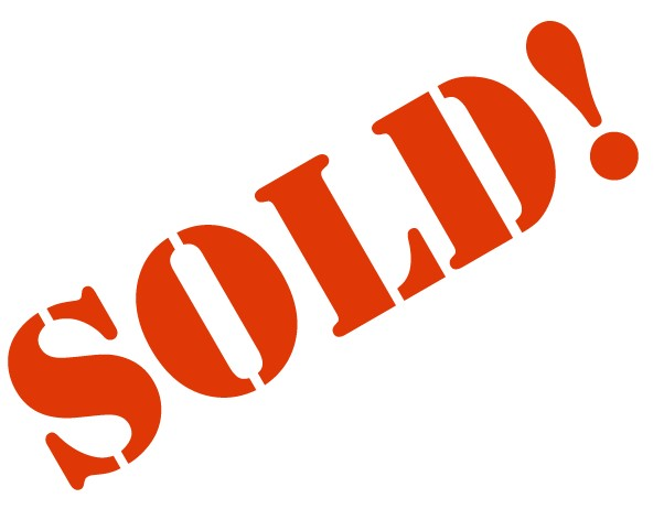 602x462 Sold Sign Clipart