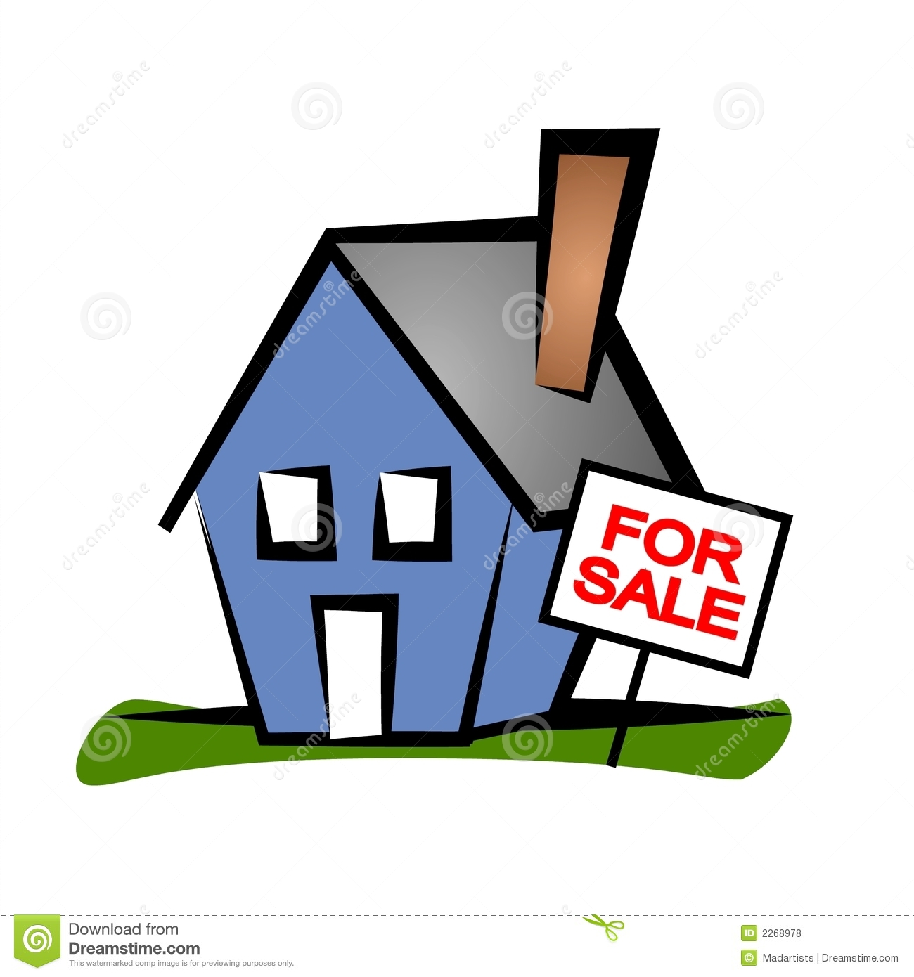1300x1390 Animated Real Estate Clipart