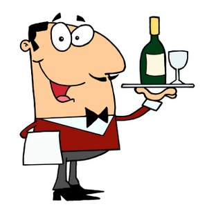 299x300 Free Waiter Clipart Image 0521 1001 2819 5134 Computer Clipart