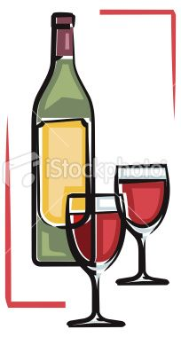 204x380 Wine Clipart Winery