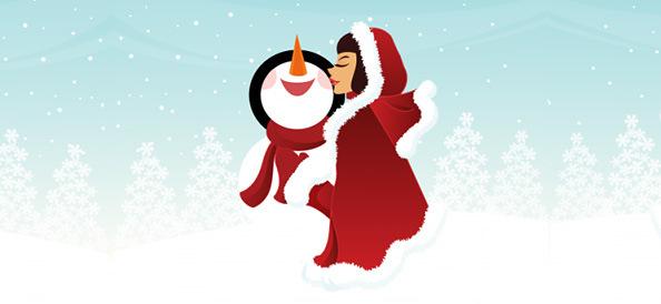 Free Clipart Winter Scenes