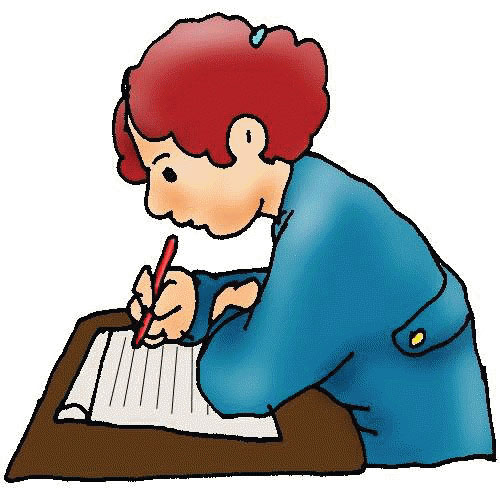 500x500 Free Clip Art Children Writing Free Clipart Images 2