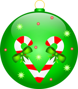 263x300 Free Clipart Christmas Decorations