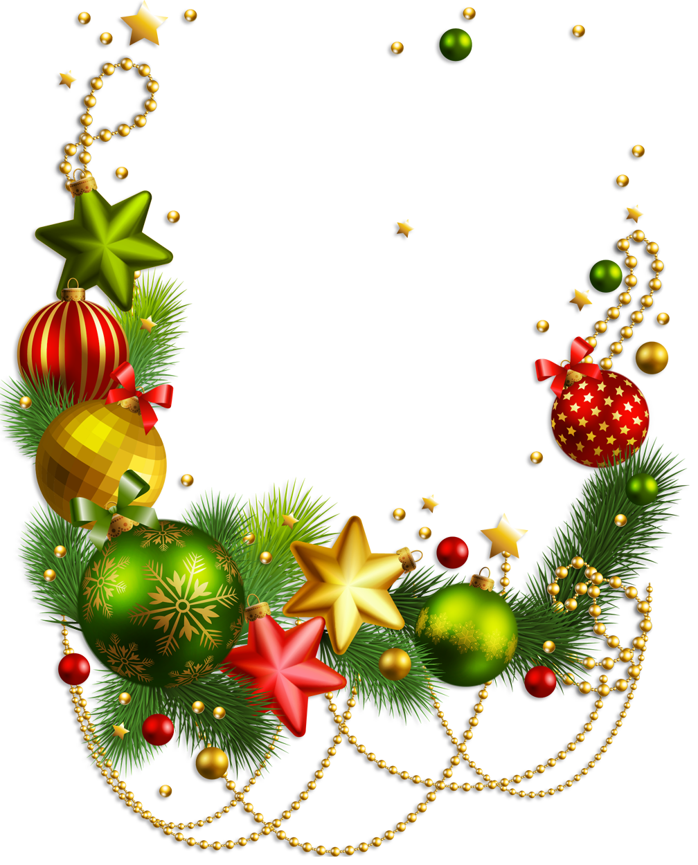1008x1250 Christmas Decorations Pictures Clip Art