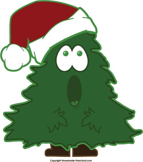 502x570 Free Clip Art Christmas Tree