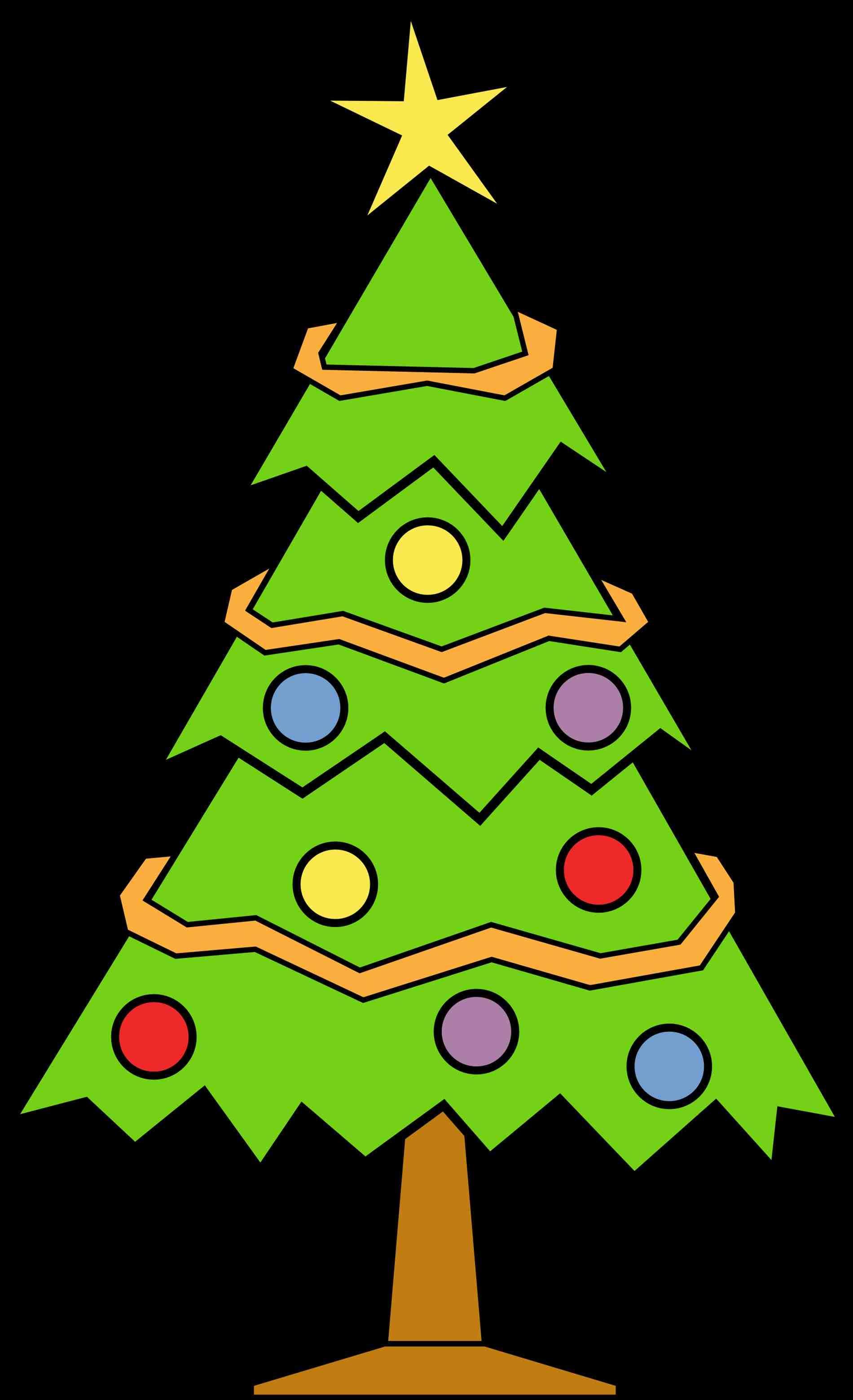 1900x3117 Abstract Christmas Tree Clip Art Free Cheminee.website