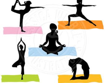 340x270 Yoga Clipart Yoga Clip Art Girl Gals Fitness Meditation