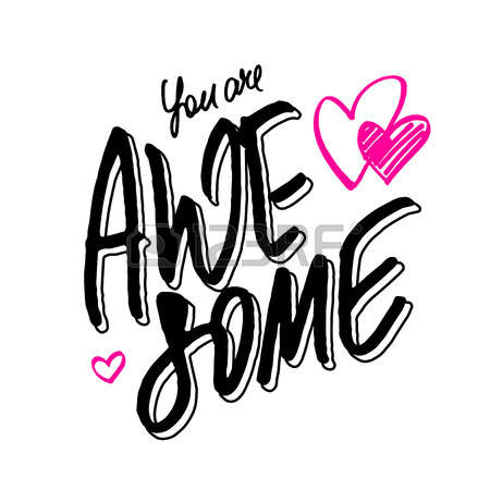 450x450 You Are Awesome Clip Art Clipart