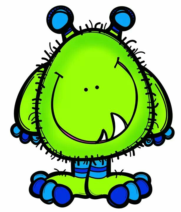 614x720 Free Cute Monster Clip Art Girl Monster Clip Art Image