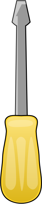 136x654 Free To Use Amp Public Domain Screwdriver Clip Art