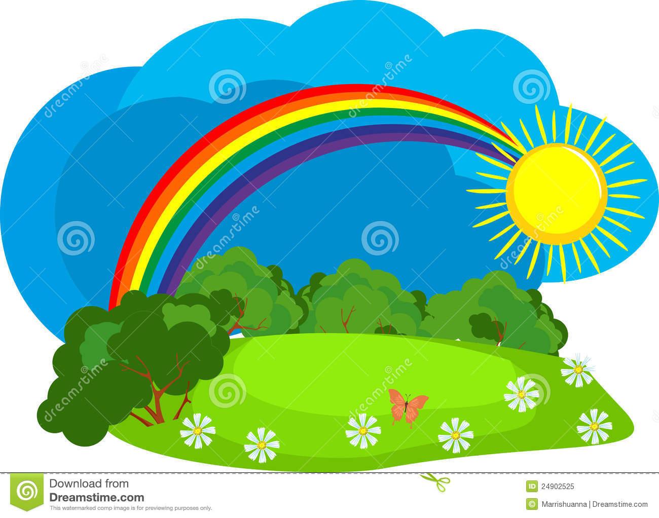 1300x1022 Rainbow Clipart Rainy