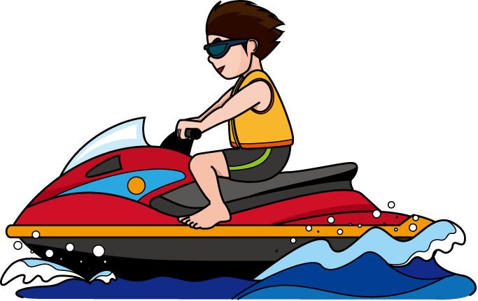 683x431 Sky clipart water skis