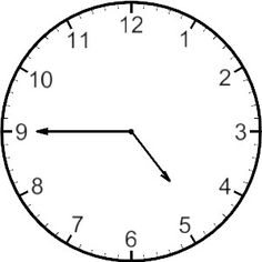 236x236 Free Analog Clock Clip Art Teaching