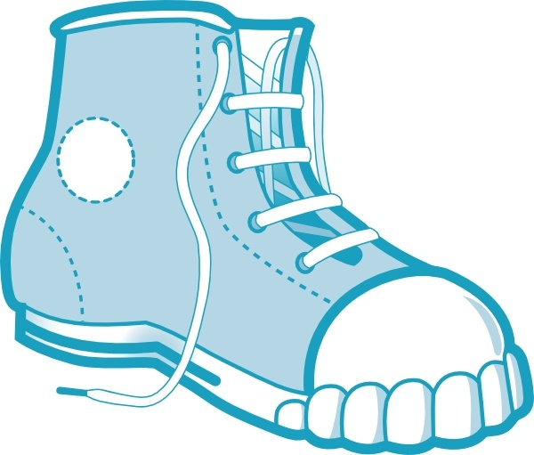 600x511 Clothing Blue Boot Clip Art Free Vector In Open Office Drawing Svg