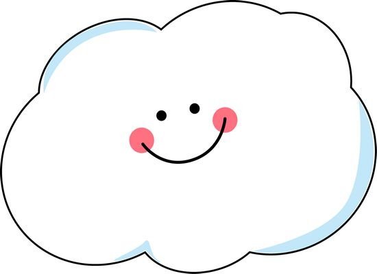 550x400 Happy Cloud Clip Art Happy Cloud Image Scrapbook Easter