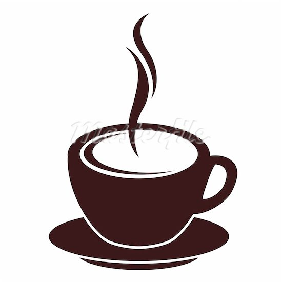550x550 Coffee Cup Vector Clip Art Offfee Cup With A Saucer Public Domain