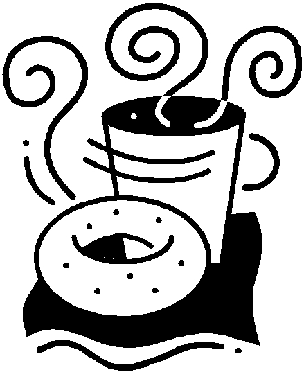 439x547 Free Breakfast Clipart Black And White Image