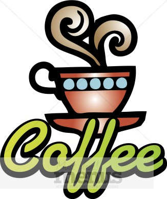 326x388 Funny Coffee Cup Clipart