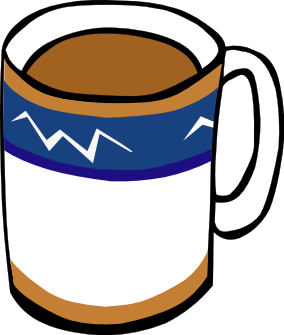 284x335 Free Coffee Clipart, 2 Pages Of Public Domain Clip Art