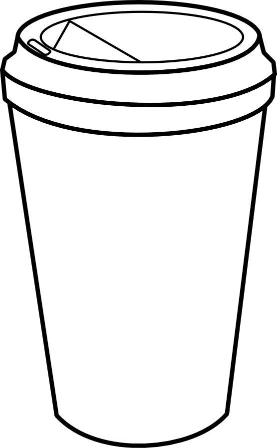 555x898 Coffee Cup Clip Art Free