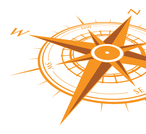 500x459 Vector Compass Background Design Material 12