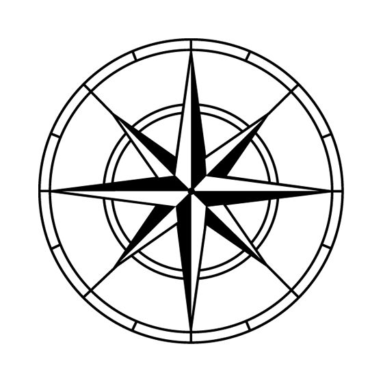 560x560 Best Compass Vector Ideas Drawn Mountains