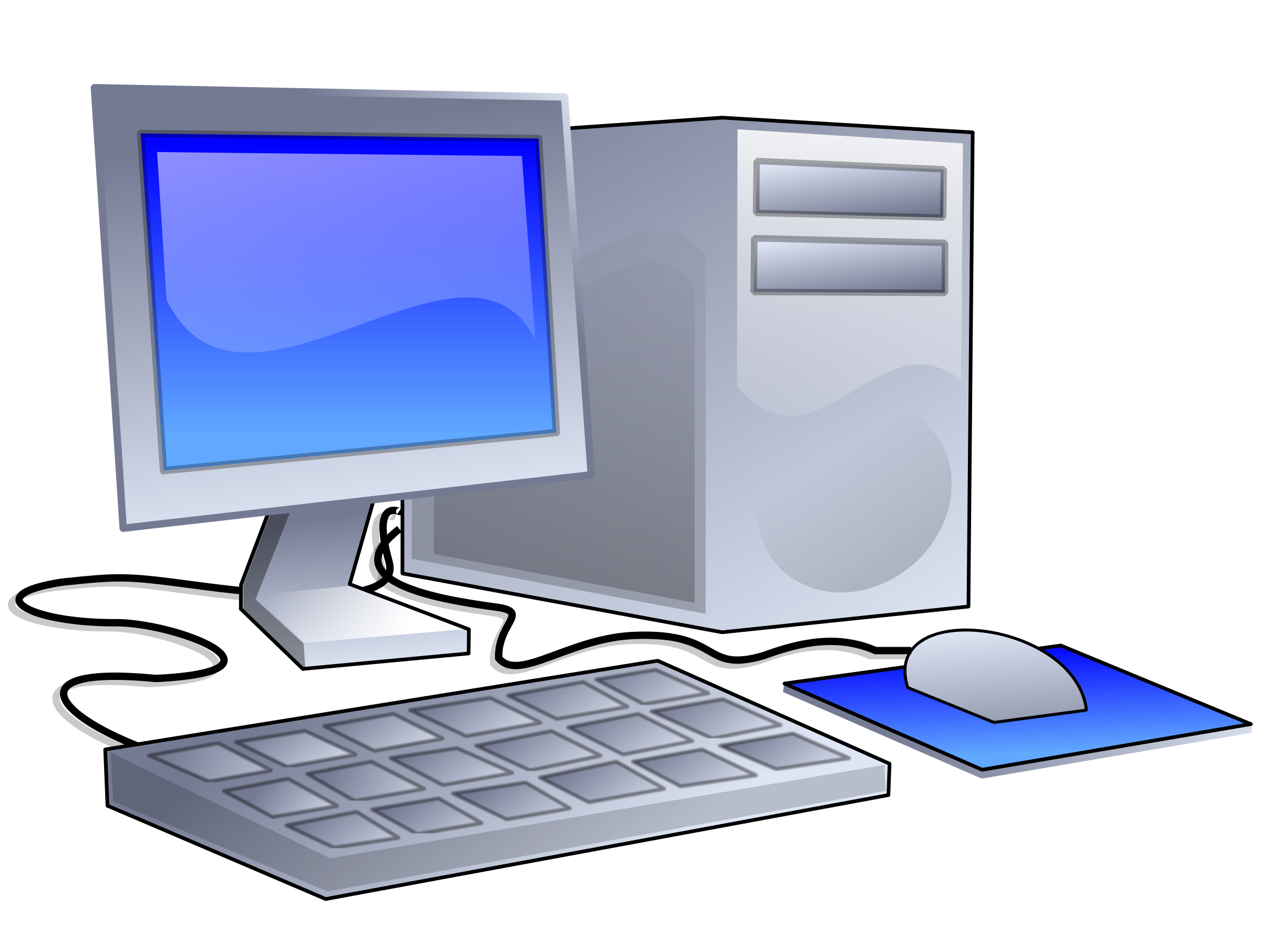 2400x1802 Computer Clip Art Free Download Free Clipart Images