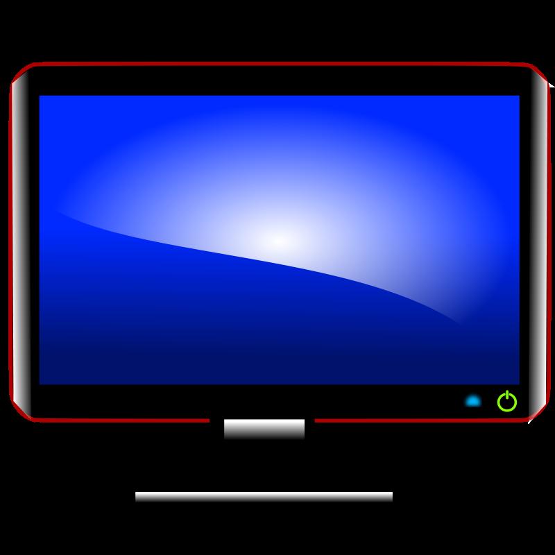 800x800 Free Computer Monitor 2 Clip Art