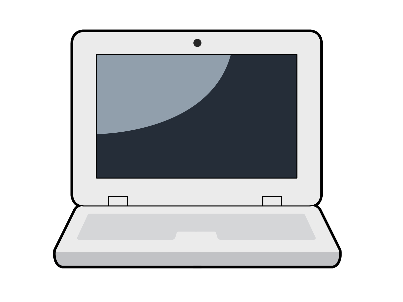 1600x1200 Free To Use Amp Public Domain Laptop Clip Art