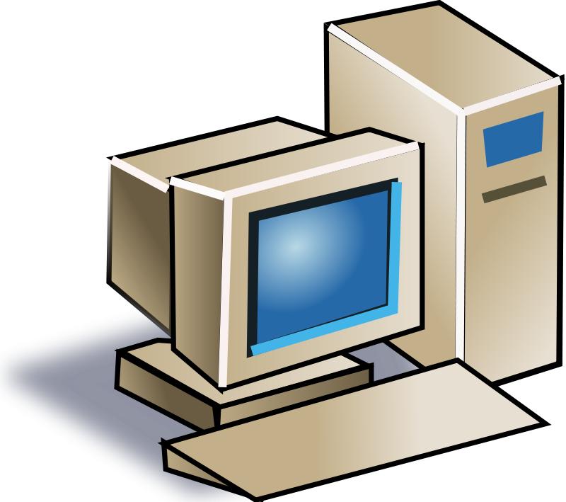 800x709 Best Desktop Computer Clipart