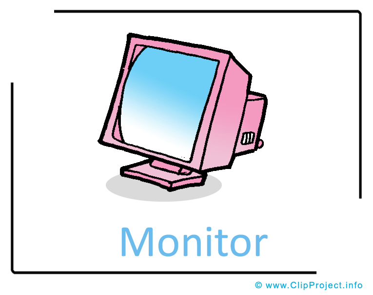765x604 Computer Monitor Clipart Image Free