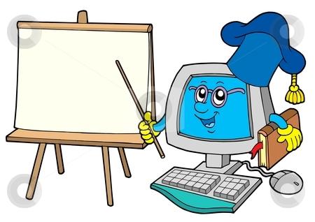 450x318 Computer Teacher Clipart